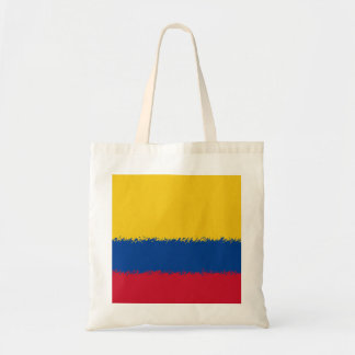 Colombian Flag Budget Tote Bag