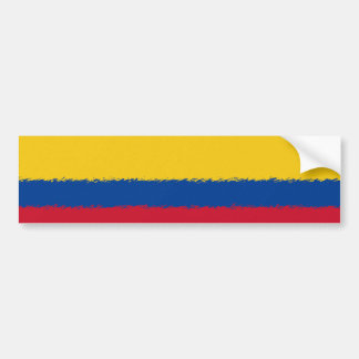Colombian Flag Bumper Sticker