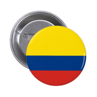 Colombian Flag 2 Inch Round Button