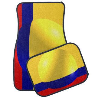 Colombian Flag Car Mat