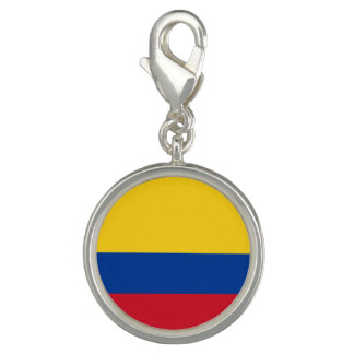 Colombian flag charm