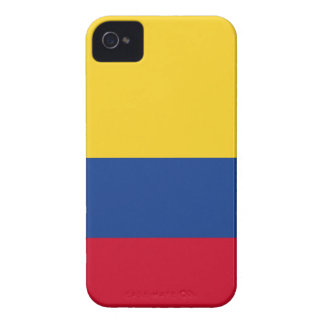 Colombian flag iPhone 4 case