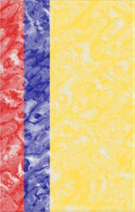 Colombian Flag Minx Nail Wraps