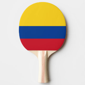 Colombian flag Ping-Pong paddle