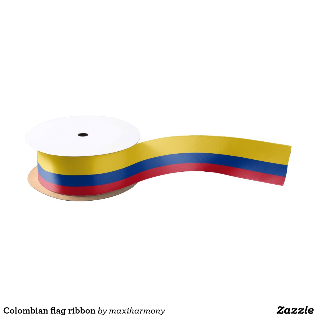Colombian flag ribbon