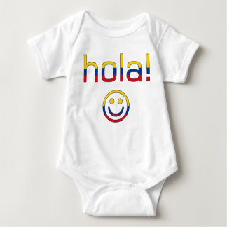 Colombian Gifts : Hello / Hola + Smiley Face Shirts