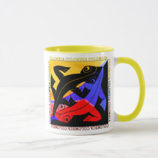 Colombian Lizard Coffee Cup