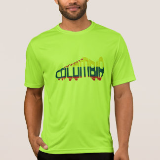 Colombian Soccer Calligram T-Shirt