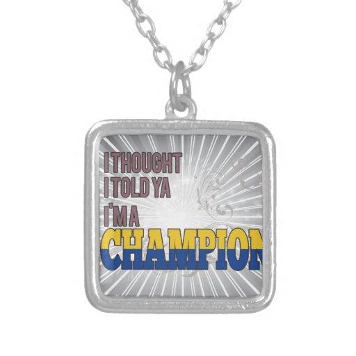 Colombiano y un campeón joyerias personalizadas