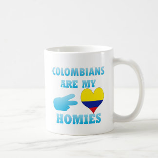 Colombians are my Homies Classic White Coffee Mug