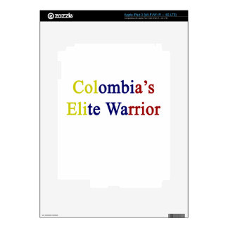 Colombia's Elite Warrior Skin For iPad 3
