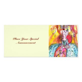 COLOMBINA / MARDI GRAS MASQUERADE BALL CARD