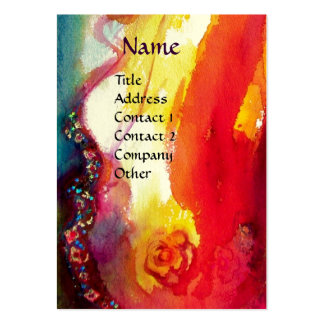 COLOMBINA  / Performing  Arts ,Costume Designer Large Business Cards (Pack Of 100)