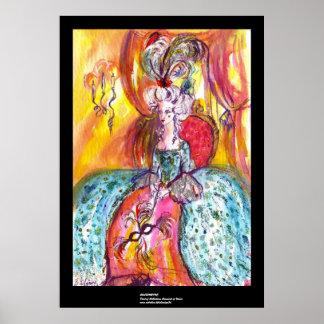 COLOMBINA / Venetian Masquerade Poster