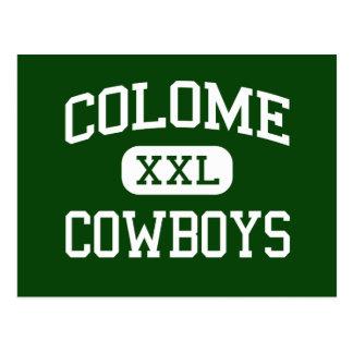 Colome - vaqueros - alto - Colome Dakota del Sur Postales