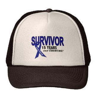 Colon Cancer 15 Year Survivor Hat