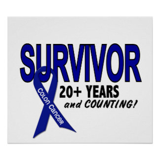 Colon Cancer 20+ Year Survivor Print