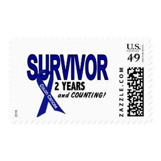 Colon Cancer 2 Year Survivor Postage