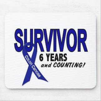 Colon Cancer 6 Year Survivor Mouse Mat