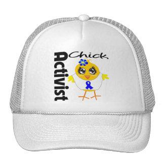 Colon Cancer Activist Chick Trucker Hat