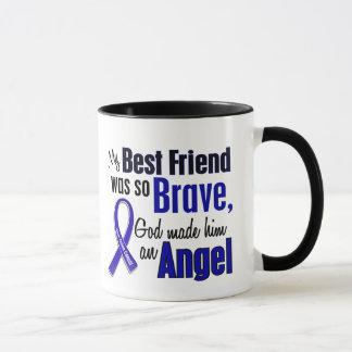 Colon Cancer ANGEL 1 Best Friend (Male) Mug