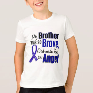 Colon Cancer ANGEL 1 Brother T-Shirt