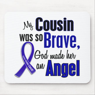 Colon Cancer ANGEL 1 Cousin (Female) Mouse Pad
