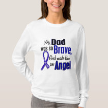 Colon Cancer ANGEL 1 Dad T-Shirt