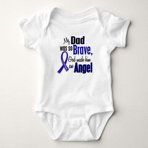 Colon Cancer ANGEL 1 Dad Tshirt