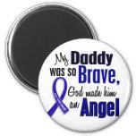 Colon Cancer ANGEL 1 Daddy 2 Inch Round Magnet
