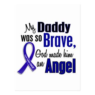 Colon Cancer ANGEL 1 Daddy Postcard