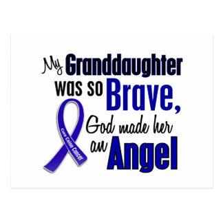 Colon Cancer ANGEL 1 Granddaughter Postcard