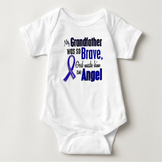 Colon Cancer ANGEL 1 Grandfather Baby Bodysuit