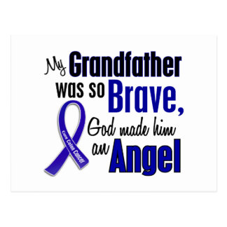 Colon Cancer ANGEL 1 Grandfather Postcard