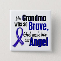 Colon Cancer ANGEL 1 Grandma Button