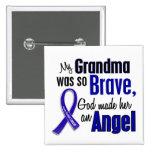 Colon Cancer ANGEL 1 Grandma Button