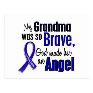 Colon Cancer ANGEL 1 Grandma Postcard