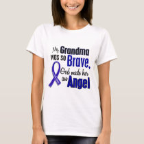 Colon Cancer ANGEL 1 Grandma T-Shirt