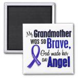 Colon Cancer ANGEL 1 Grandmother Fridge Magnets