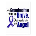 Colon Cancer ANGEL 1 Grandmother Postcards