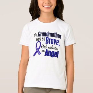 Colon Cancer ANGEL 1 Grandmother T-Shirt
