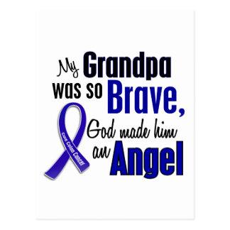 Colon Cancer ANGEL 1 Grandpa Postcard