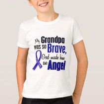 Colon Cancer ANGEL 1 Grandpa T-Shirt