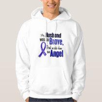Colon Cancer ANGEL 1 Husband Hoodie