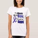 Colon Cancer ANGEL 1 Mom T-Shirt