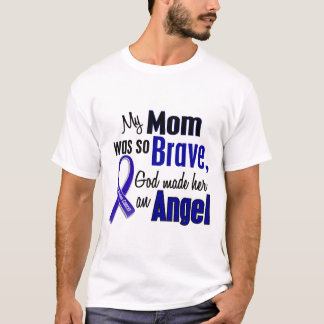 Colon Cancer ANGEL 1 Mom T-Shirt