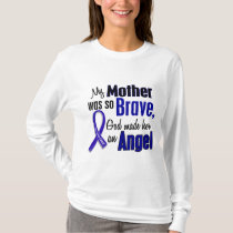 Colon Cancer ANGEL 1 Mother T-Shirt