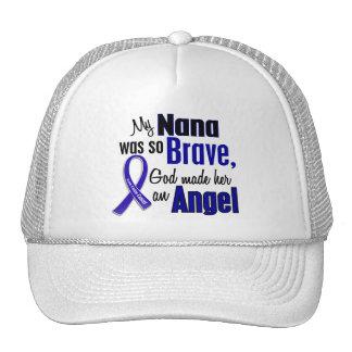 Colon Cancer ANGEL 1 Nana Mesh Hats