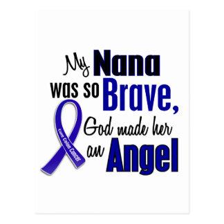 Colon Cancer ANGEL 1 Nana Postcard