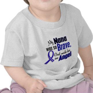 Colon Cancer ANGEL 1 Nana Tshirt